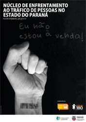 Cartaz Núcleo de Enfrentamento ao Tráfico de Pessoas