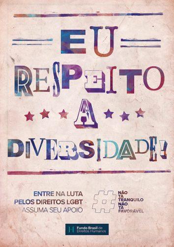 Direitos Lgbt São O Foco Da Nova Fase De Campanha Do Fundo Brasil