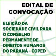 Edital Elei��o COPED